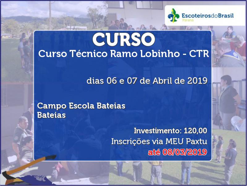 Curso Técnico Ramo Lobinho - CTR