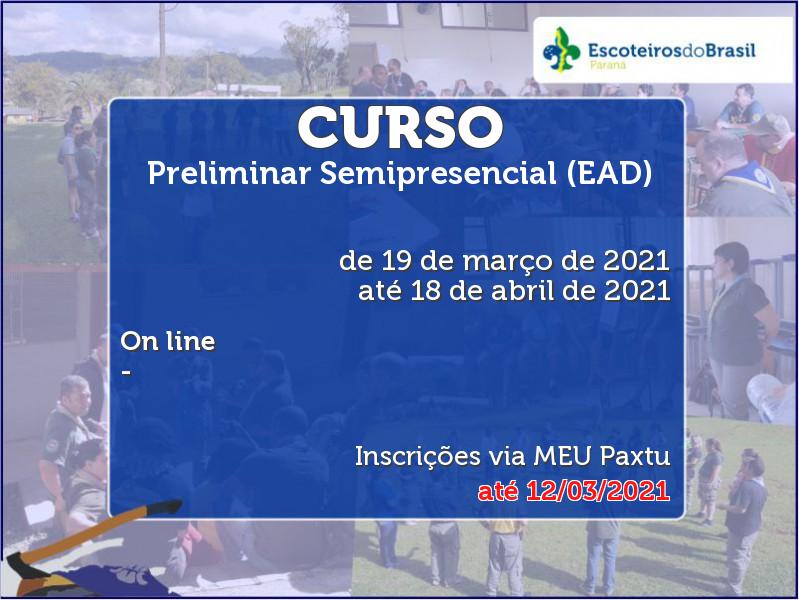 Preliminar Semipresencial (EAD)