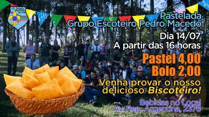 Pastelada - GE Pedro Macedo - 301/PR
