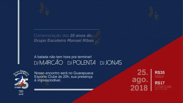 Bodas de Prata - G.E. Manoel Ribas
