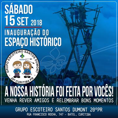 Inauguração do Espaço Histórico do GESantos Dumont