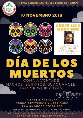 Noite Mexicana - Dia de los Muertos