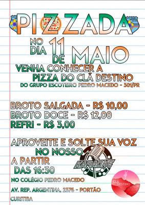 PIZZADA CLÃ DESTINO