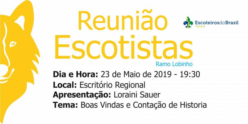 Reunião Escotistas - Ramo Lobinho