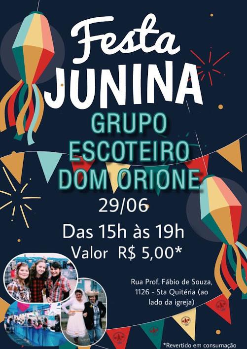 Festa Junina GEDOM 112-PR