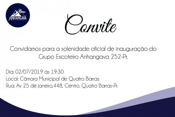 Inauguração GE Anhangáva - 252/PR