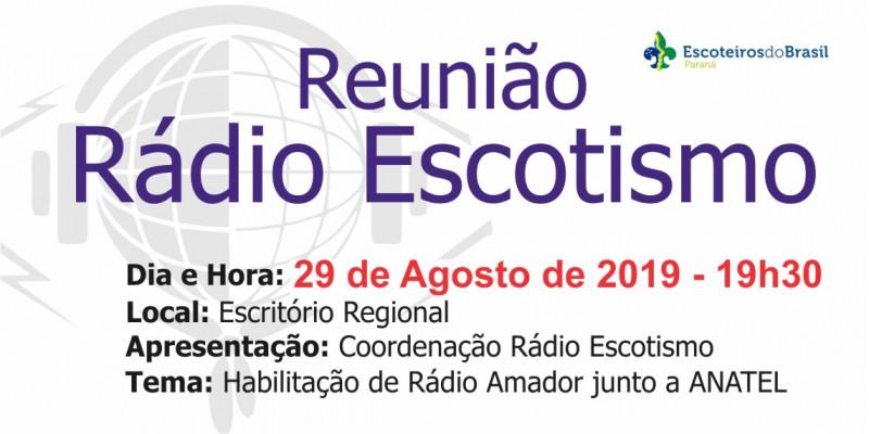 Reunião - Rádio Escotismo