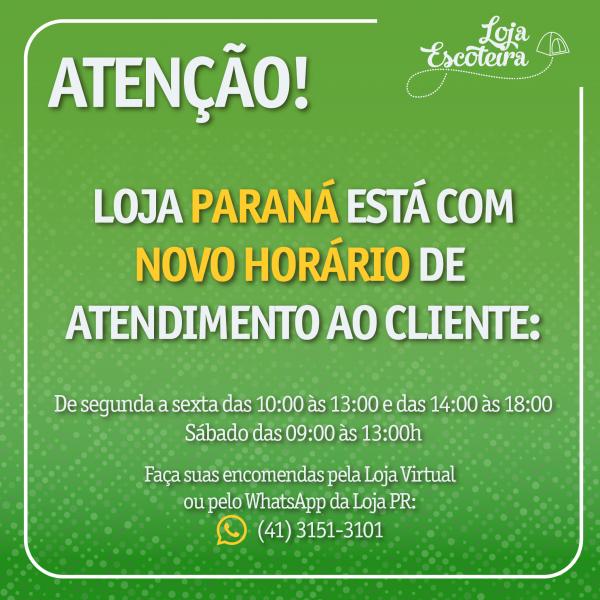 A Loja Escoteira informa a reabertura da Loja Paraná