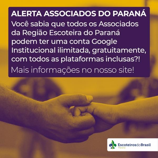 Alerta Escoteiros do Paraná!