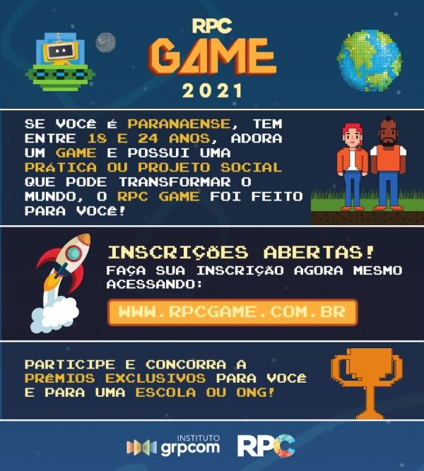 RPC Game 2021: O Jogo de Quem Transforma o Mundo