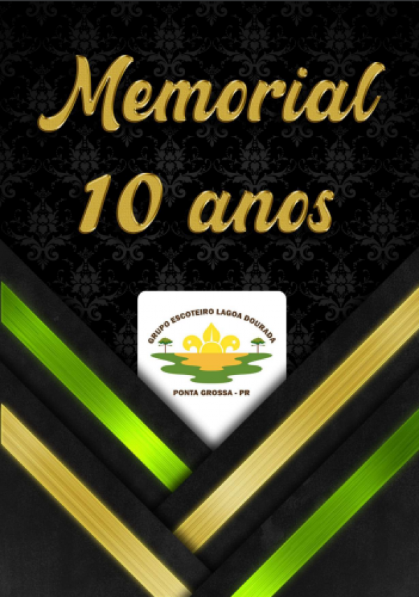 Aniversário de 10 Anos e Publicação de Livro de Memórias - GELD 206/PR
