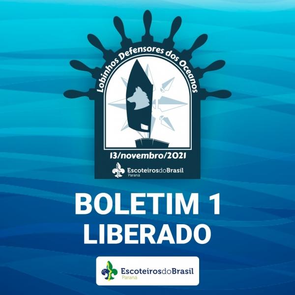 Boletim 1 - 2ª Atividade Náutica Regional Ramo Lobinho