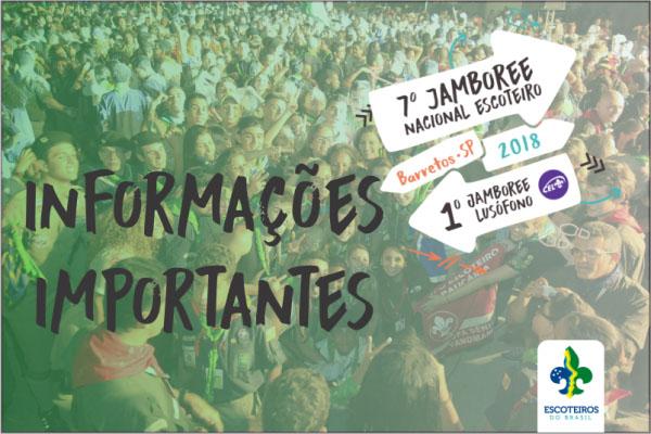 Informativo Jamboree - Contingente Paranaense