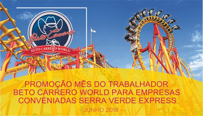 Beto Carrero World - Serra Verde Express