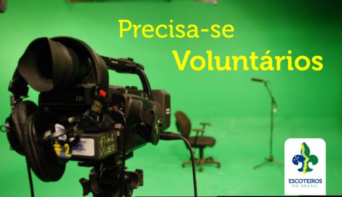 Precisa-se Voluntários