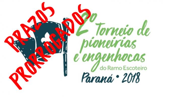 PRORROGADO - 2º Torneio de Pioneirias