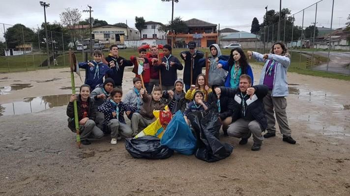 O Grupo Escoteiro Ilha de Brownsea realizou  MUTECO 2018