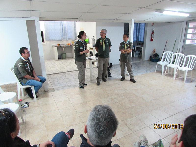 Reunião com os pais do GE Max Wolff Filho - 121/PR