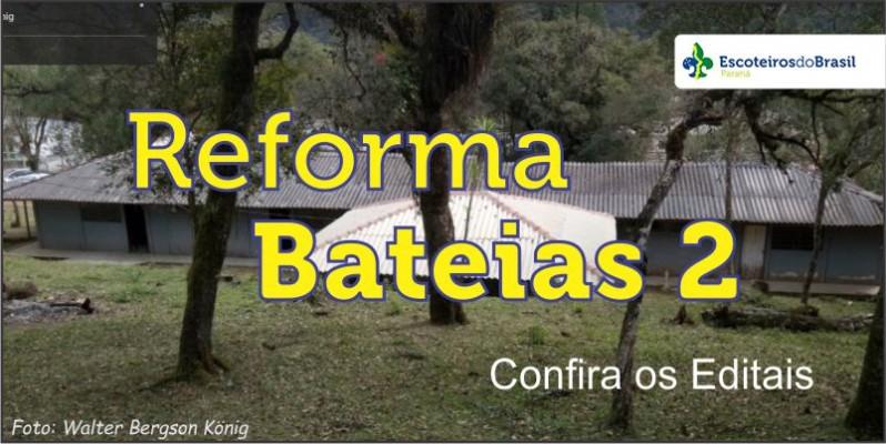 Reforma de Bateias