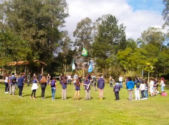 Inauguração do Grupo Escoteiro São José dos Pinhais