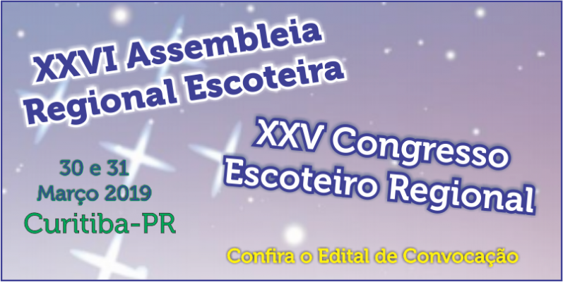 XXVI Assembleia Escoteira Regional