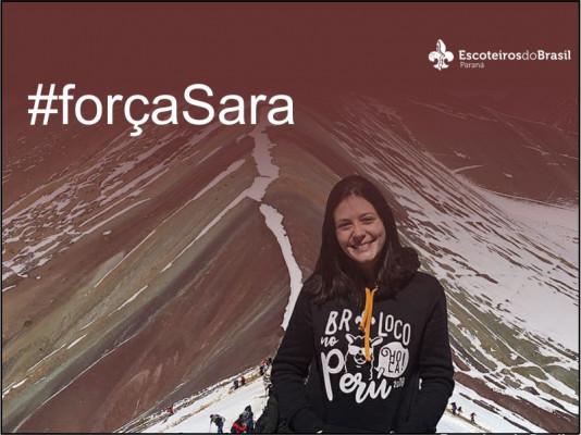 #forçaSara