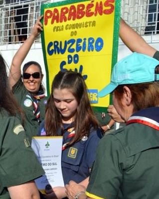 Cruzeiro do sul na Alcatéia Kotick do GESJT