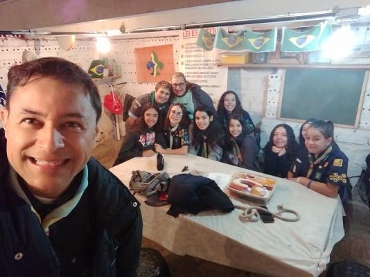 Visita ao Grupo Escoteiro Baden Powell