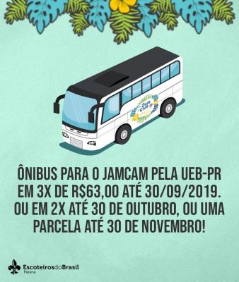 Ônibus para o JAMCAM - 2020