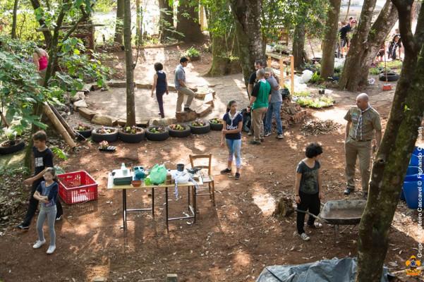 Revitalização do Jardim no GE Cascavel