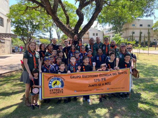 GE ESTRELA DO NORTE participa de Desfile Cívico em Sarandi/PR