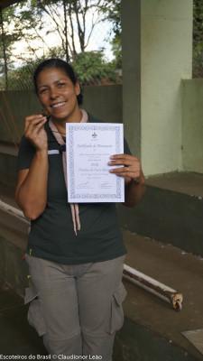 Nova Diretora de Curso Básico: Edileia Oliveira