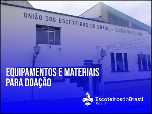 Equipamentos e Materiais para Doação UEL's
