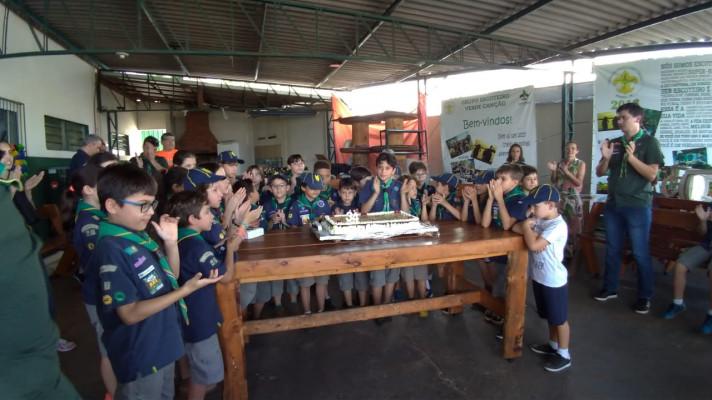Comemorações no Grupo Escoteiro Verde Canção