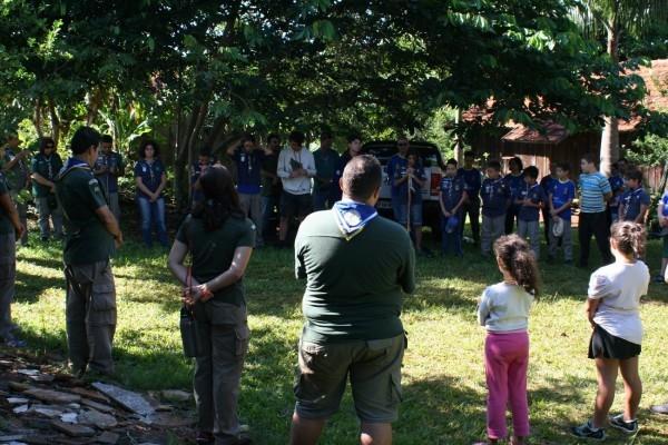 Acampamento do G.E. Guarani-046