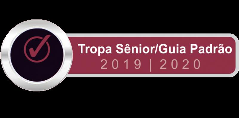 Tropa Sênior Padrão 2019 - 2020