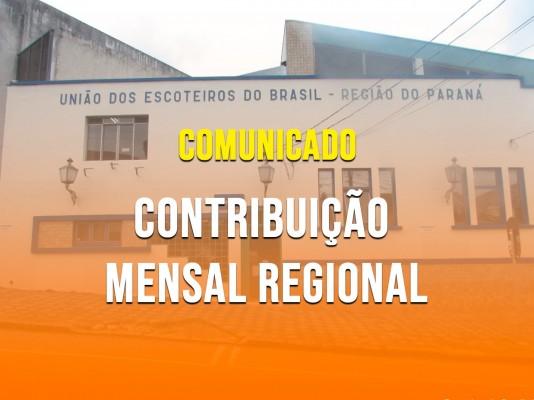 Comunicado - Contribuição Regional