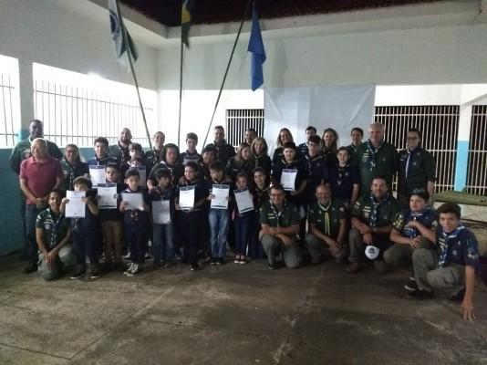 Fundação e Primeiras Promessas do Grupo Escoteiro Sentinela do Paraná