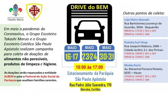 DRIVE DO BEM