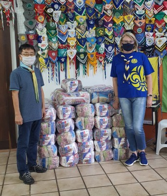 G.E. Santa Mônica faz doação para