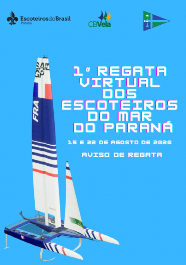 1a Regata Virtual dos Escoteiros do Mar do PR