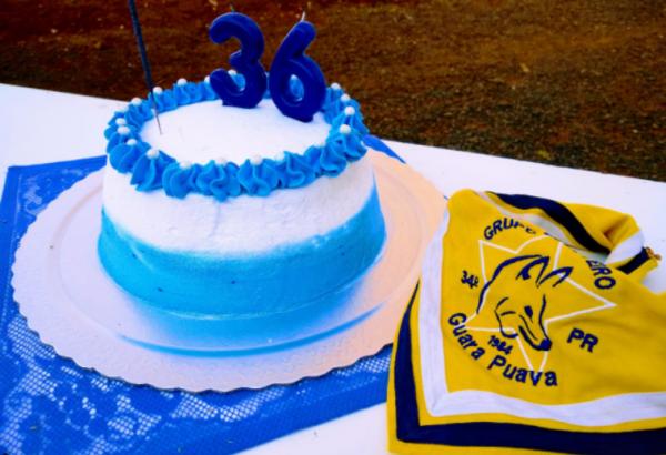 Aniversário de 36 anos do Grupo Escoteiro Guara Puava 34/PR