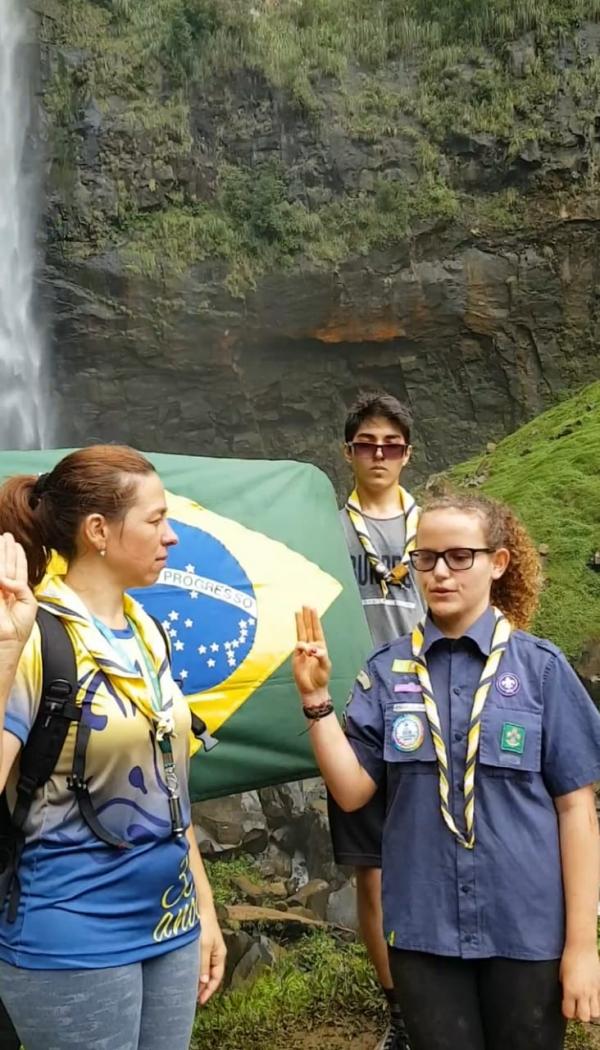 Parte 2-Sêniores do Grupo Escoteiro Guara Puava no Salto São Francisco