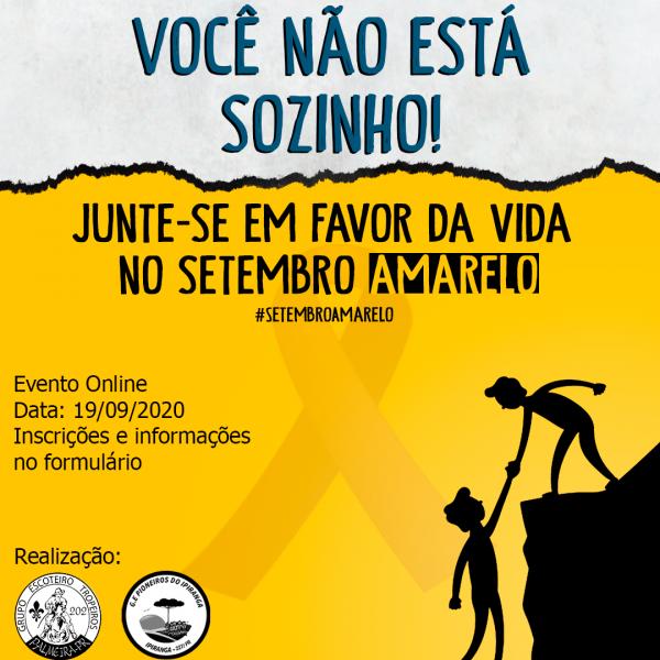 MUTCOM - Setembro Amarelo: GEs Tropeiros e Pioneiros do Ipiranga