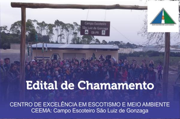 Edital de Chamamento - Campo Escoteiro SLG