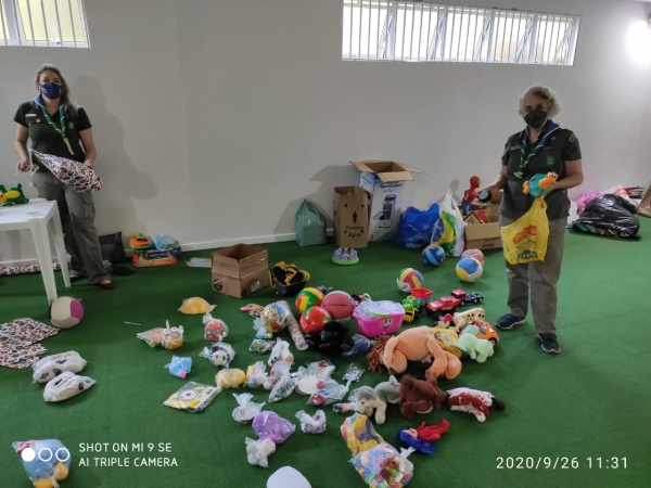 Campanha Doação de Brinquedos e Livros Infantis