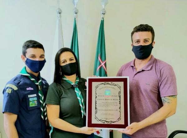 GE Comandante Santa Rita recebe o Título de Honra ao Mérito!