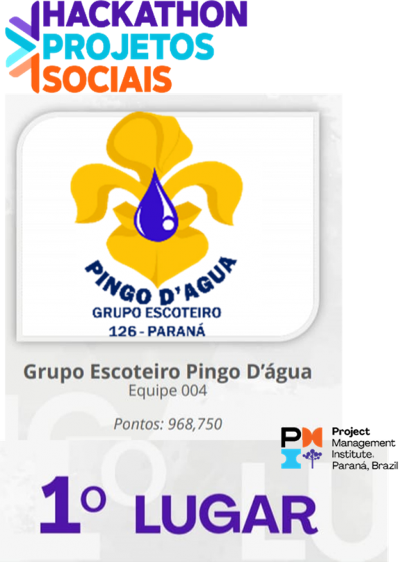 GEPA 126/PR - 1º LUGAR NO HACKATHON PROJETOS SOCIAIS 2020