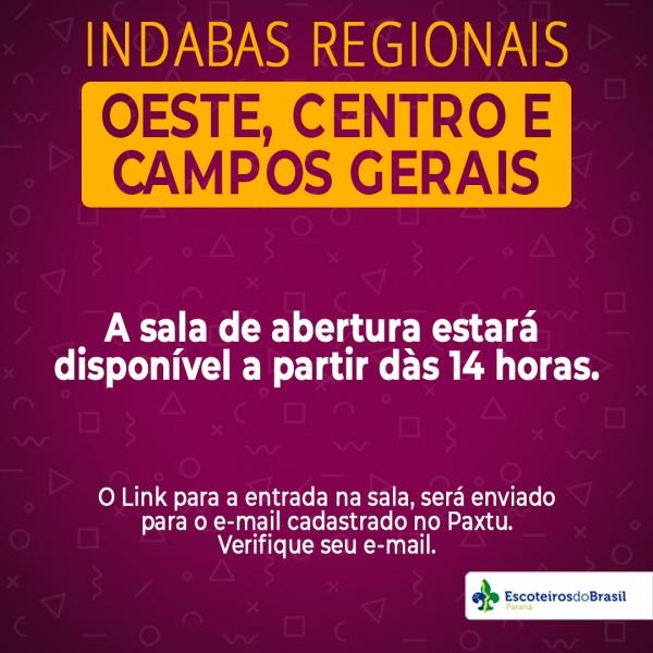 INDABAS REGIONAIS